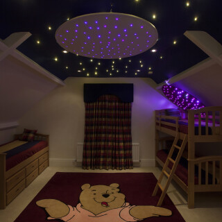 Star Ceiling Ring - Illuminated Sensory Toy
