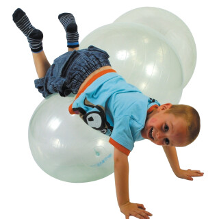 Transparent Therapy Balls:- Size: Small