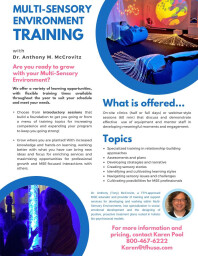 Sensory Room Training