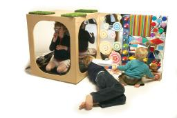 Sensory Kinetic Toy Wall