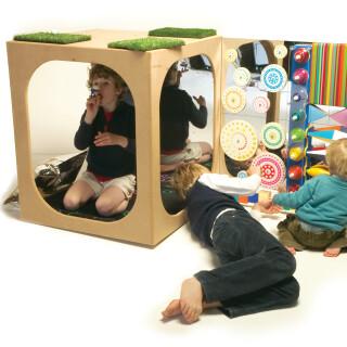 Sensory Kinetic Toy Wall