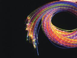 UV Fiberoptik 100 trådar 2 m inkl ljuskälla