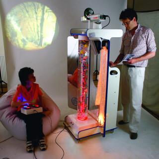 VECTA Deluxe Portable Sensory Complete Cart