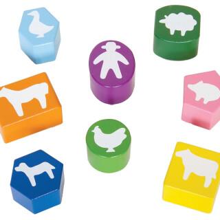 Barn Block Puzzle Lock Box