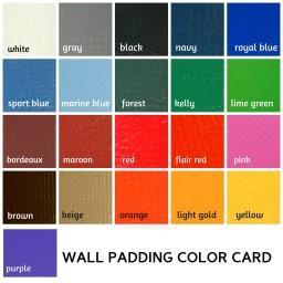 Custom Wood Backed Wall Pads - 2' x 6'