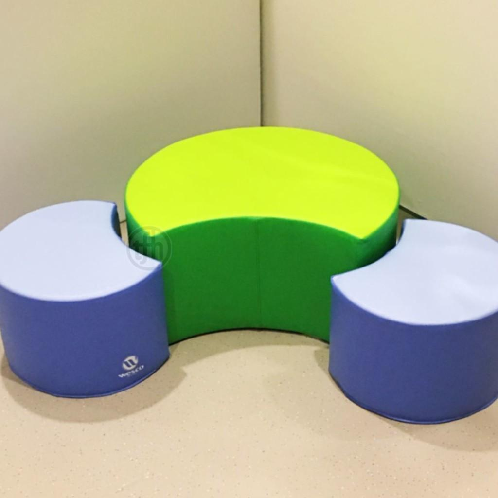 Flexible Seating Pouffe Set