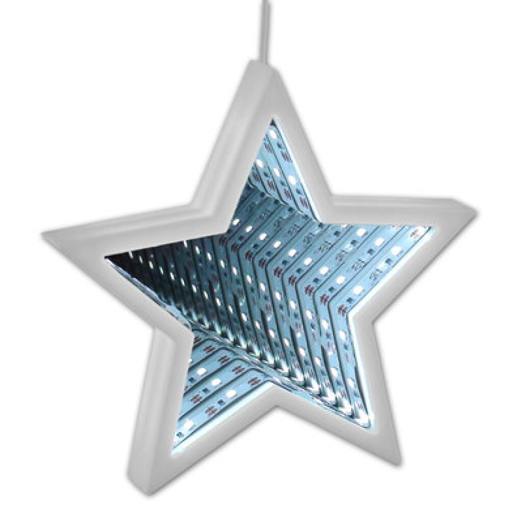 inFUNities Star - Double Sided LED Illusion Shape
