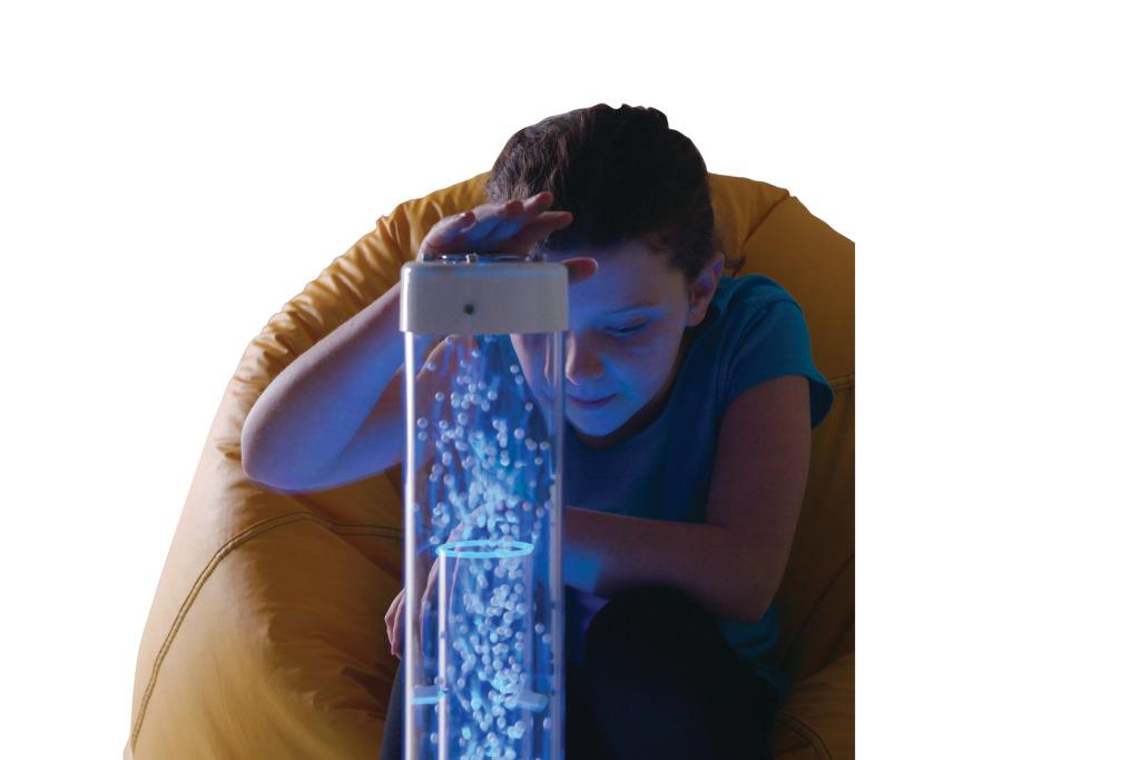 Tabletop Hurricane Sensory Reward Toy