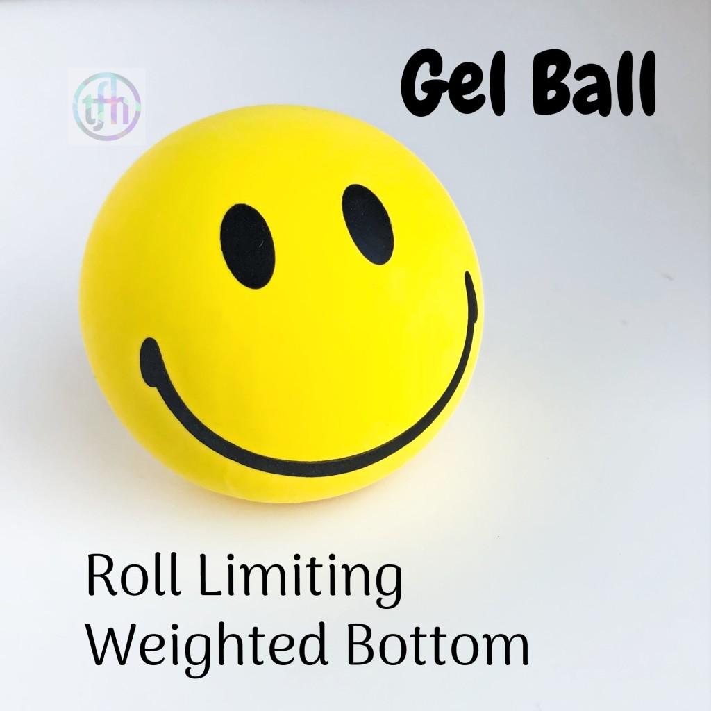 Happy Face Gel Stress Ball