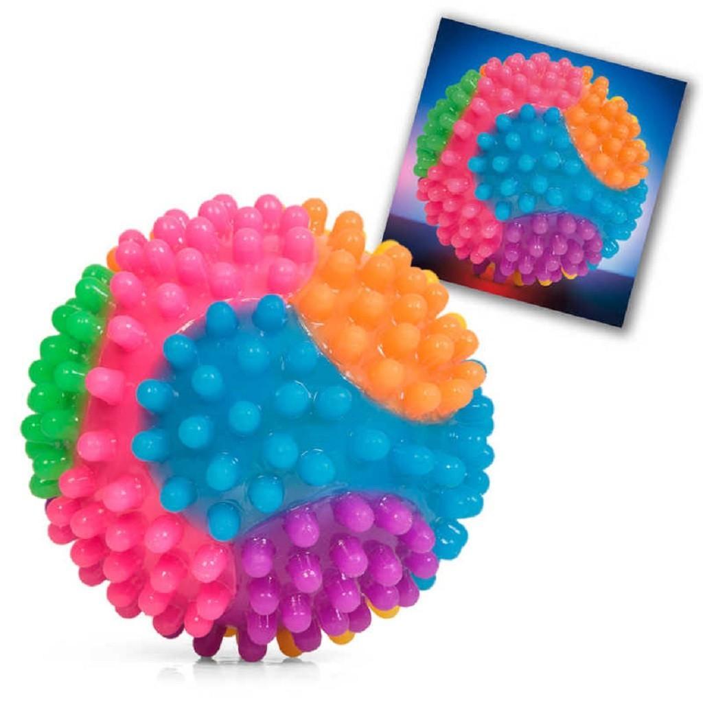 Tactile Flashing Bumpy Ball