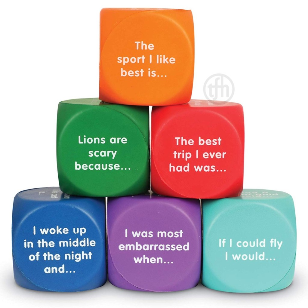 Conversation Cube Writing Prompts