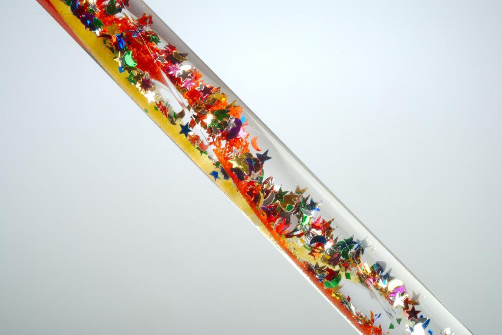 Narrow Glitter Tube