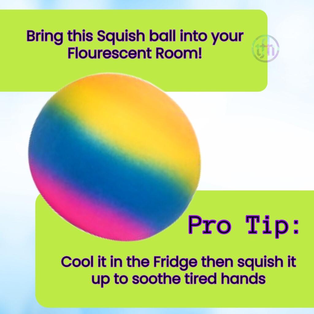 Squish Rainbow Ball