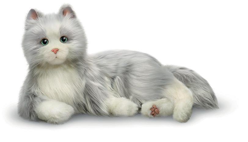 Silvergrå kompiskatt - digitalt terapidjur