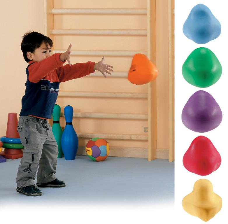 Bouncy Rocks x6 - Throw & Catch Sensory Toy