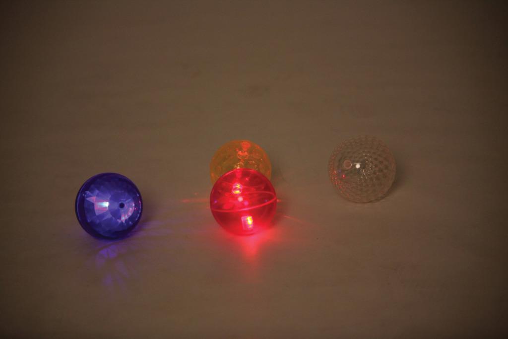 Blinkande Sinnesbollar