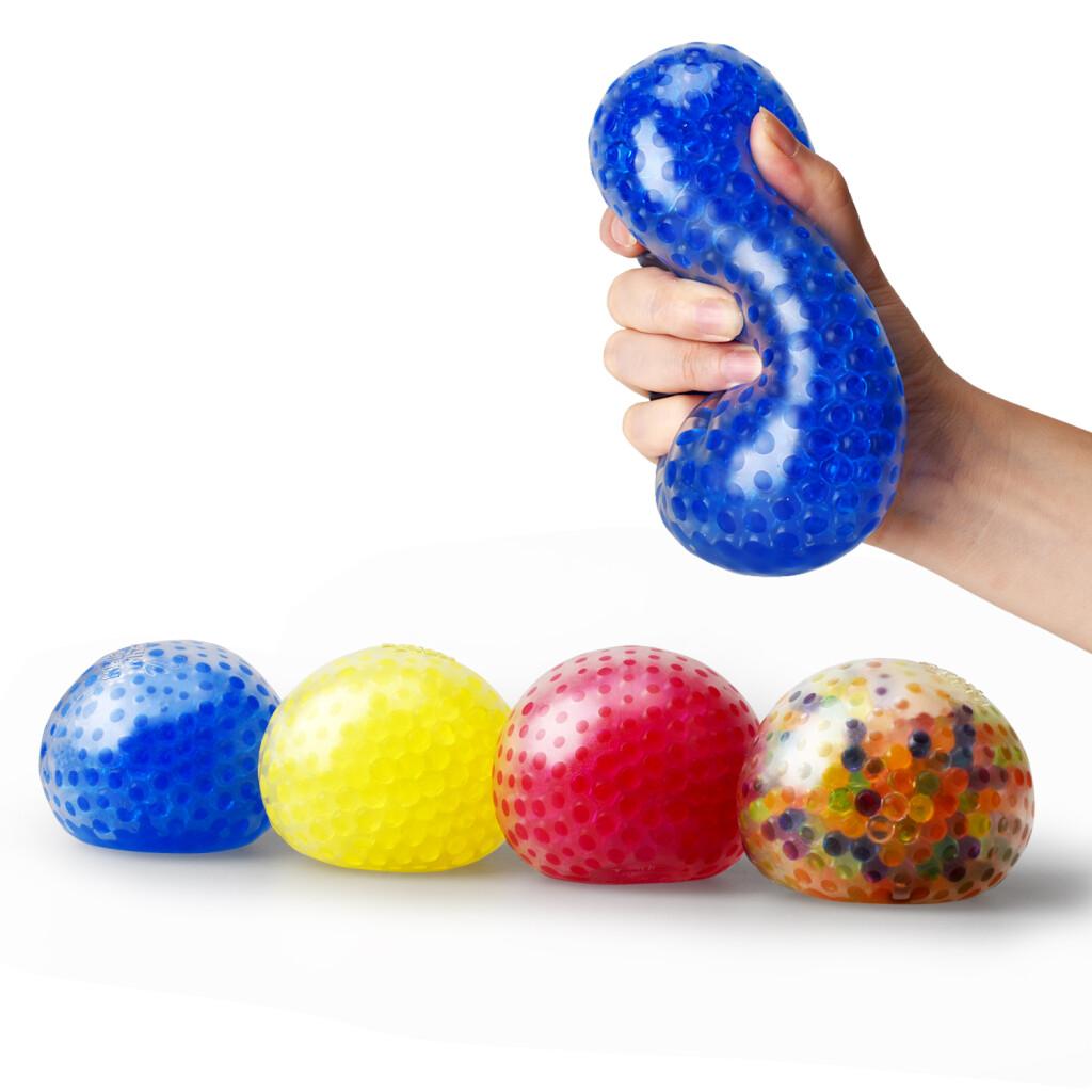 Water Bead Stress Balls - Set of 4