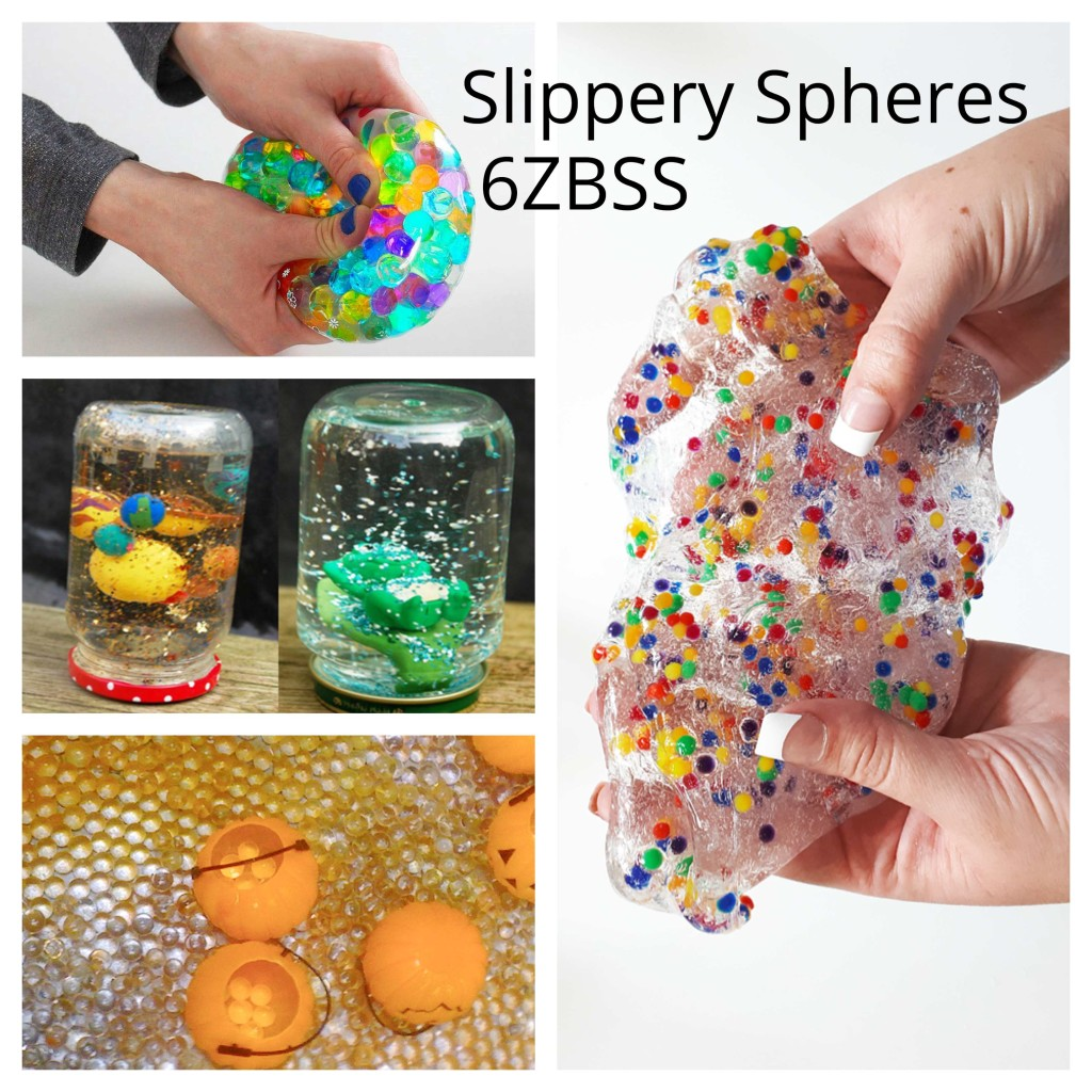 Slippery Tactile Spheres