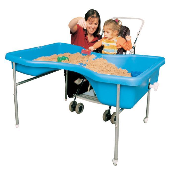 Sand och Vattenlekbord