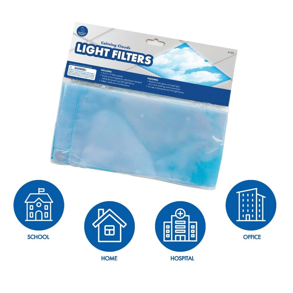 Calming Clouds Light Filters - Set of 4