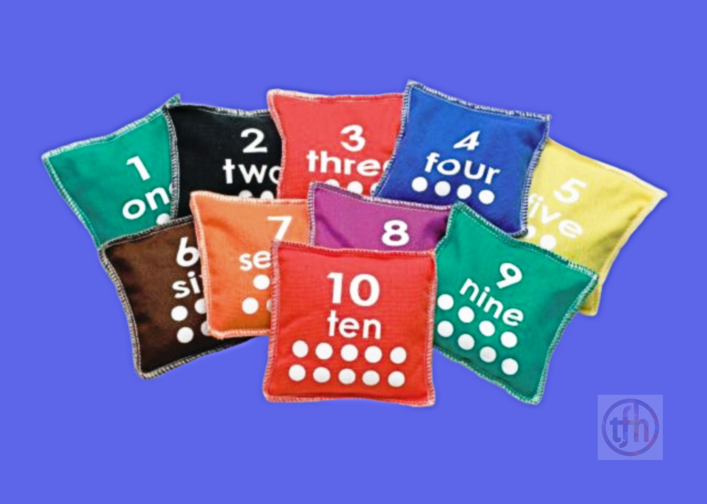 Numbered Bean Bags - Sociable Special Needs Toy