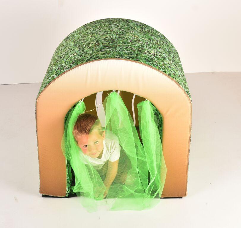 Giant Sensory Tunnel - Grass